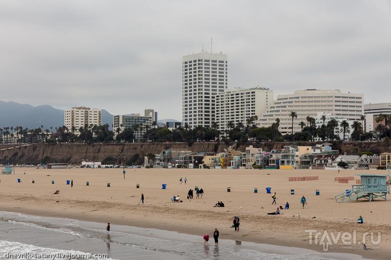 Лонг-Бич и Санта-Моника, Калифорния: прогулки по улицам / Фото из США