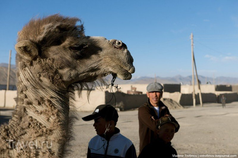 В кишлаке Рангкуль, с дружественным визитом на закате дня / Таджикистан