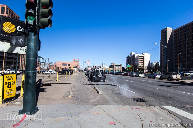 Улицы Денвера / США