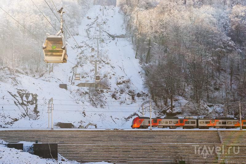 Красная Поляна, Сочи: Король умер. Да здравствует король! / Фото из России