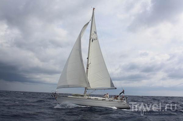 На яхте вдоль берегов Хорватии / Хорватия