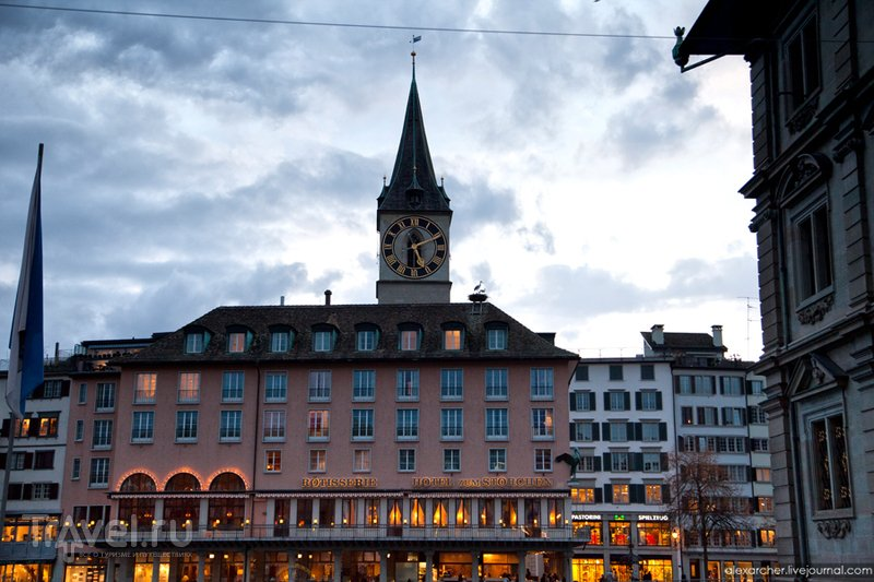 Цюрих. Один вечер / Швейцария