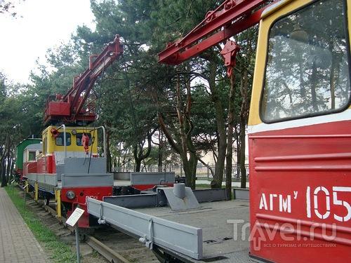 Барановичский музей железнодорожной техники / Белоруссия