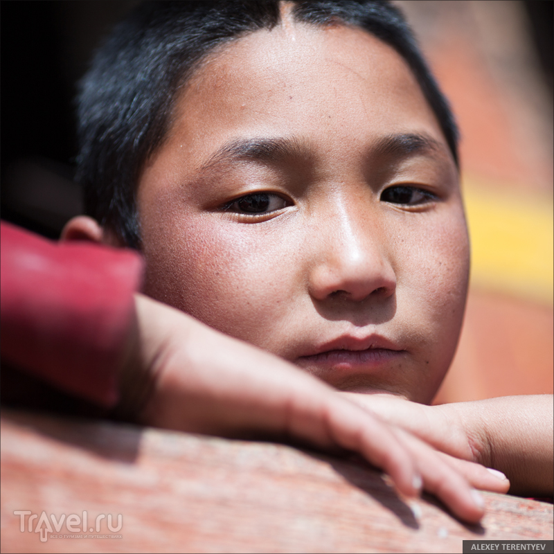 Буддийские люди. Индия / Индия