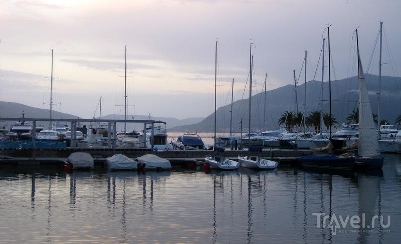 """Черногорское """"Лазурное побережье"""" - яхт-марина Porto Montenegro / Фото из Черногории"""