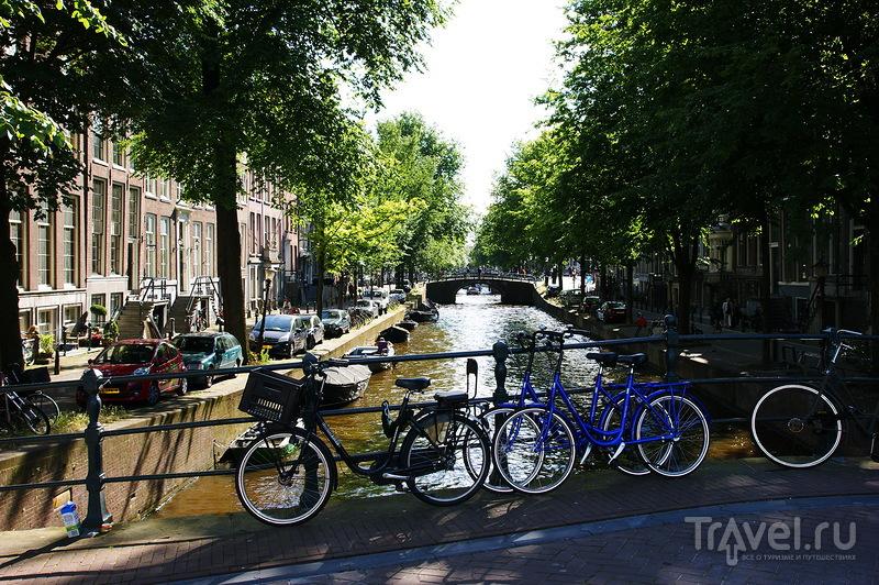 На улицах Амстердама / Нидерланды