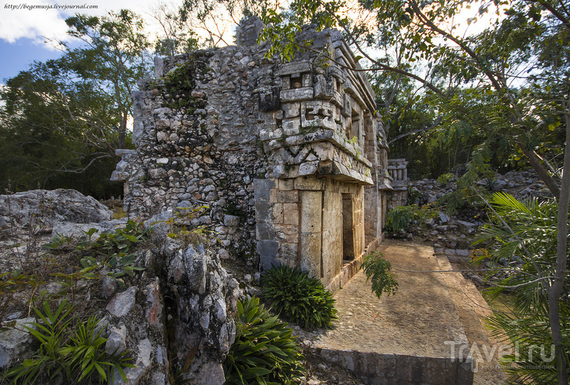 Юкатан. Горный хребет Пуук: археология, игуаны и какао... / Фото из Мексики