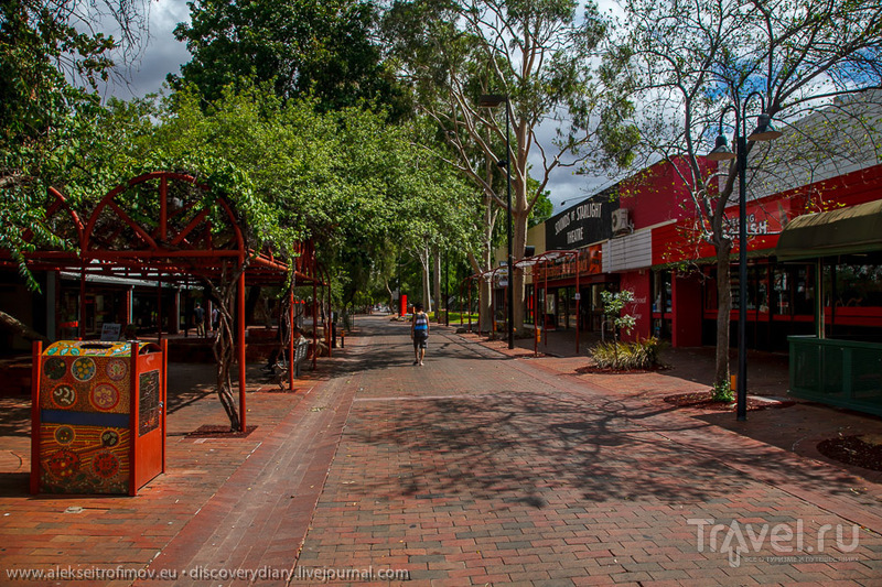 Элис Спрингс - столица Красного Центра / Фото из Австралии