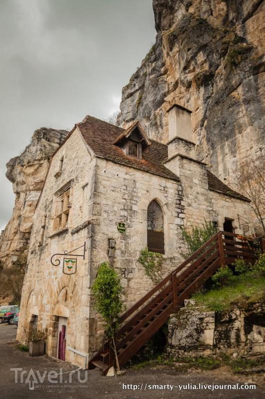 Рокамадур: Необычный город в скале / Фото из Франции