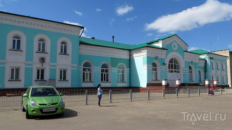 В западном направлении. Город Рославль / Россия