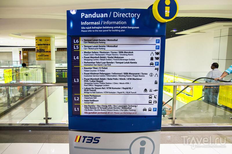 Куала-Лумпур. Транспортный терминал Bersepadu Selatan (TBS) / Малайзия