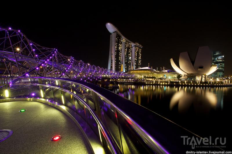 Ночной Сингапур / Сингапур
