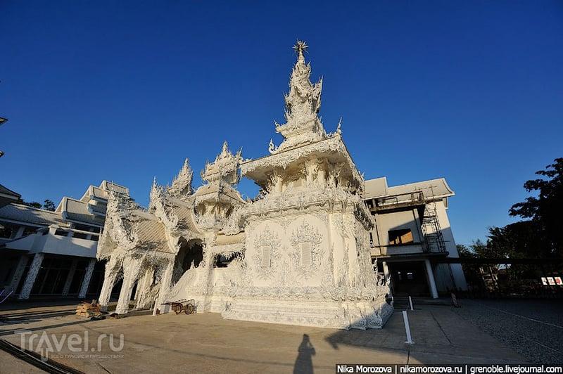 Белый храм Ват Ронг Кхун (Wat Rong Khun) / Фото из Таиланда