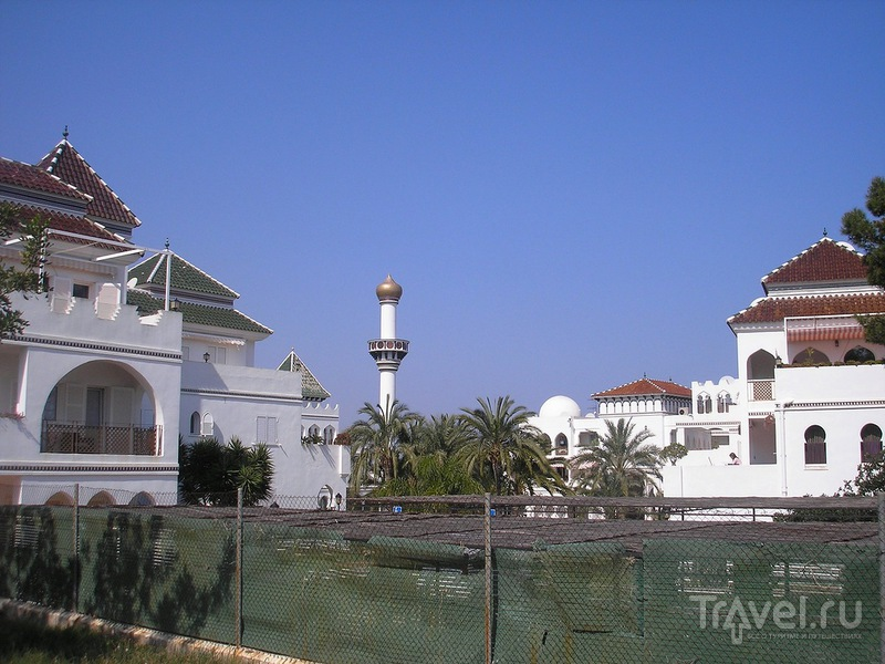 Мусульманский квартал в Дении / Испания