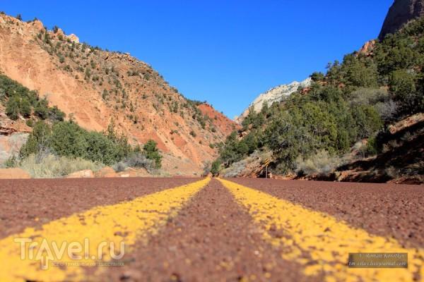 Zion National Park, первое знакомство / США