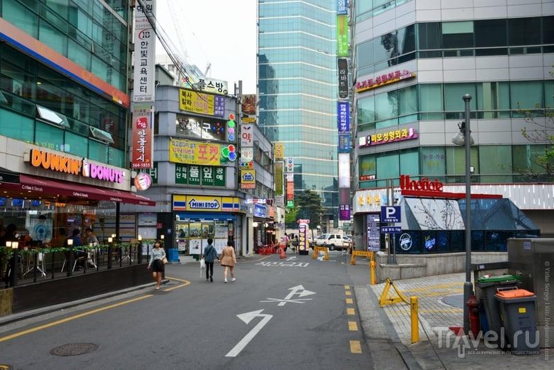 Gangnam - самый контрастный район Сеула / Фото из Южной Кореи