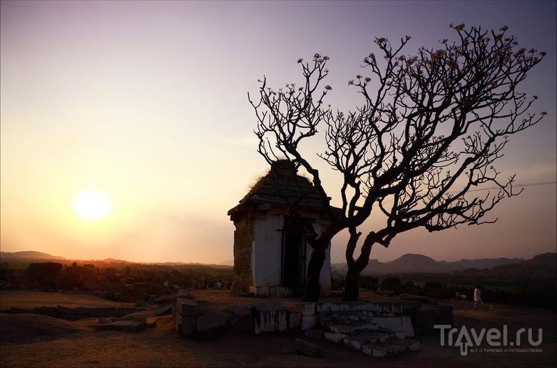 Хампи. Храм Вирупакши / Фото из Индии