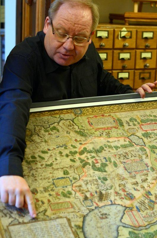 Первая карта России была составлена англичанином. / Фото из Польши