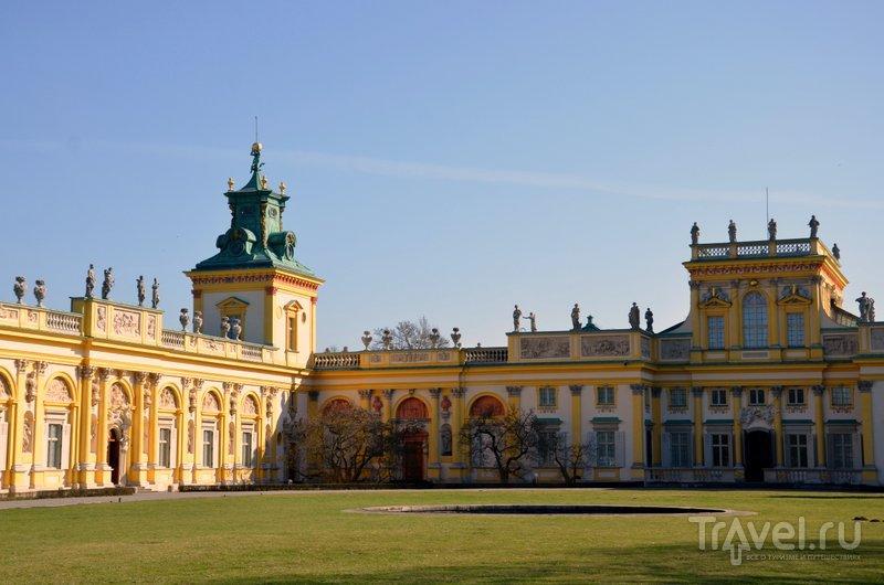 Дворец Вилянув в Варшаве - резиденция польского короля Яна III Собеского. / Фото из Польши