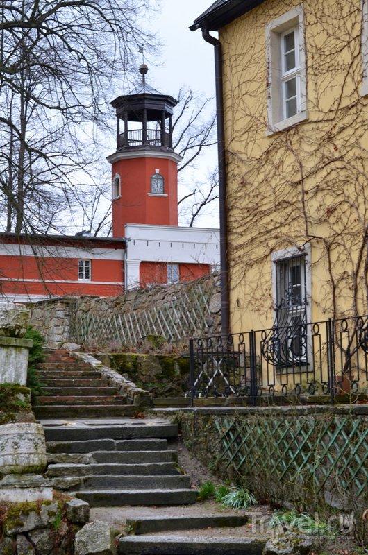 Вид на павильон кавалеров - там располагается часть номеров отеля. / Фото из Польши
