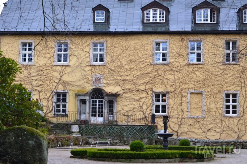 Вид на здание дворца со стороны парка. / Фото из Польши