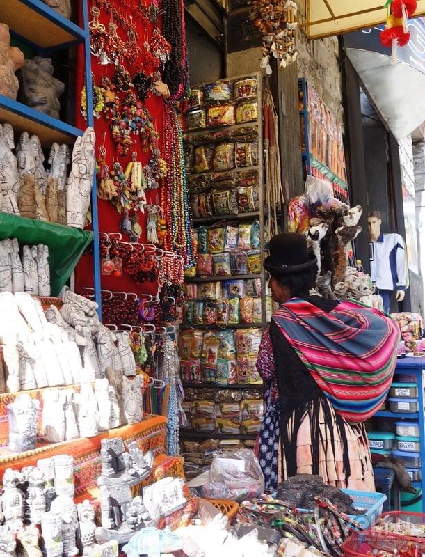 Боливия. Ла-Пас. Рынок ведьм / Боливия
