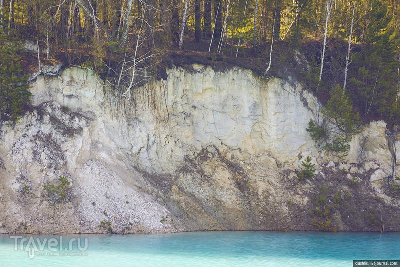 Бывший Кыштымский каолиновый карьер или Уральский Бали / Фото из России
