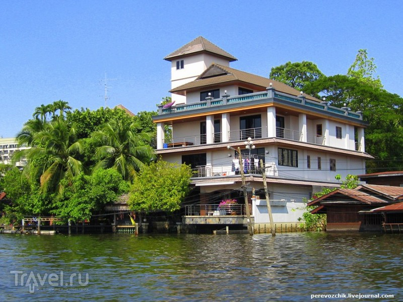 Каналы Бангкока: восточная Венеция / Таиланд