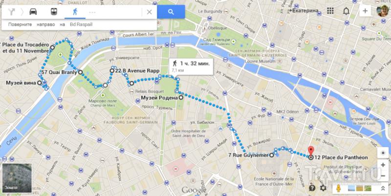 Несколько пешеходных прогулок по Парижу / Франция