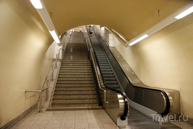 Афинское метро / Греция