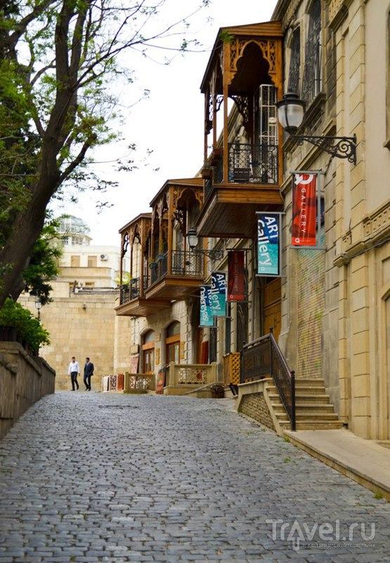 Грузино-азербайджанский поход. Ичери-шехер / Азербайджан