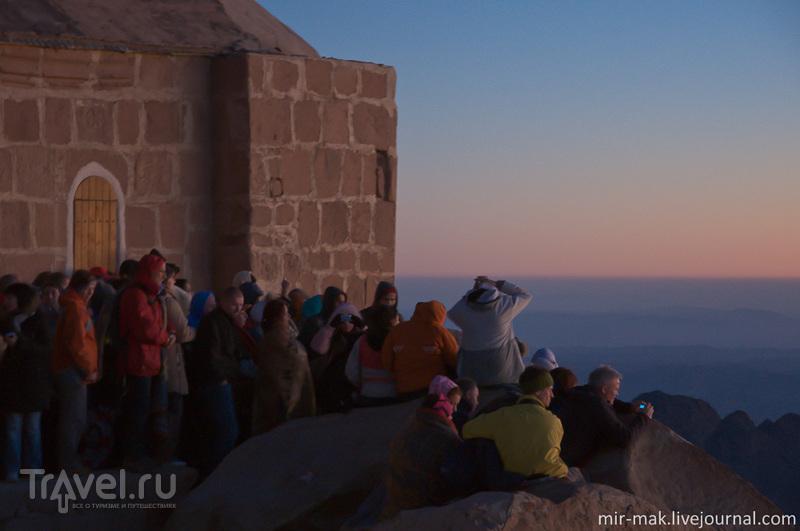 Рассвет на горе Моисея и загадочный постскриптум / Фото из Египта