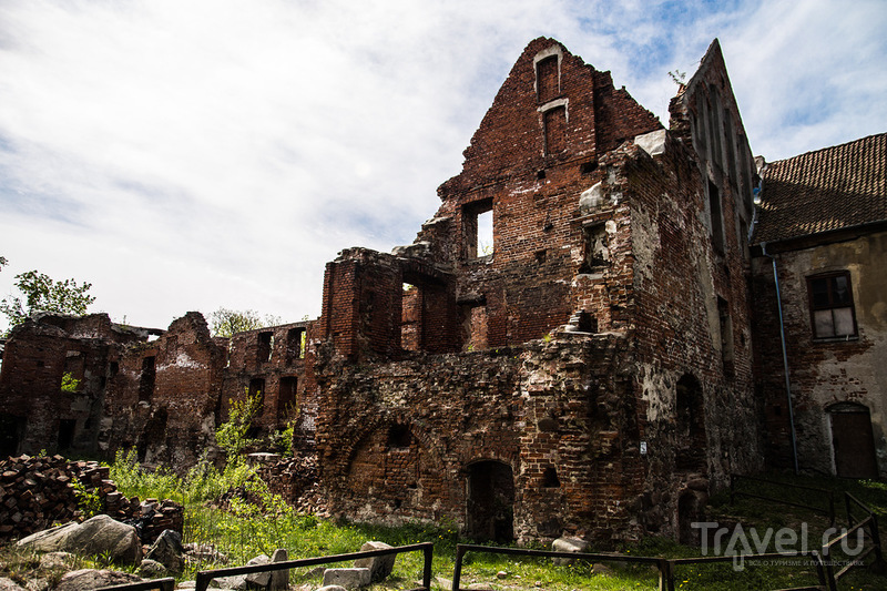 Черняховск: замок Инстербург / Россия