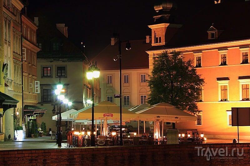 Варшава в вечернем свете / Фото из Польши