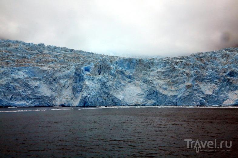 Аляска. Круиз по Кенайским фьордам и ледник Aialik Glacier / Фото из США