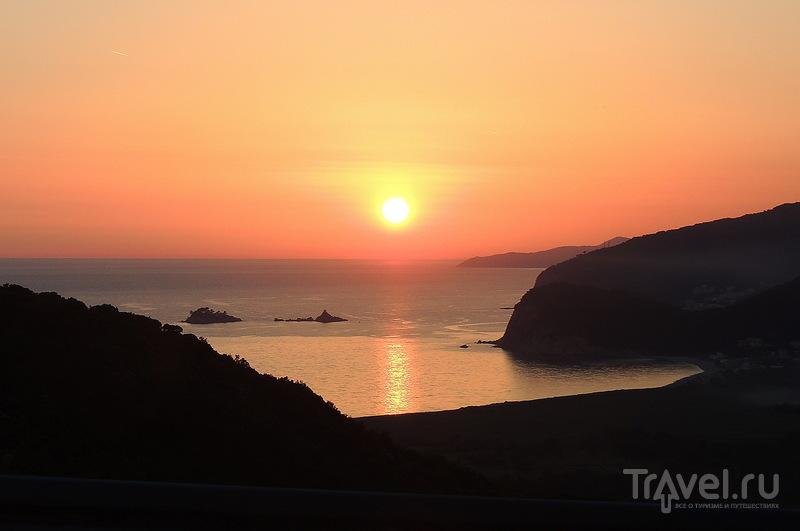 В погоне за закатом в Черногории / Фото из Черногории