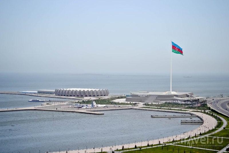 Баку. С высоты Нагорного парка / Фото из Азербайджана