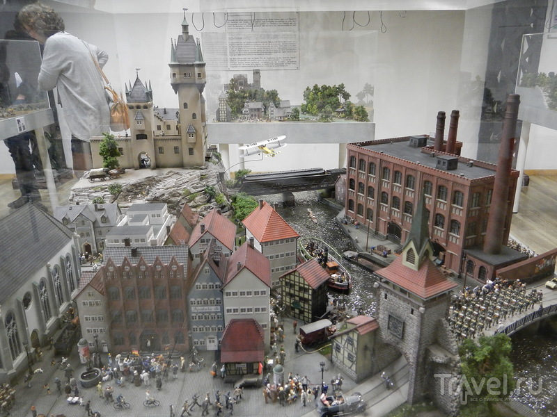 Страна Чудес (Miniatur Wunderland) в Гамбурге / Германия