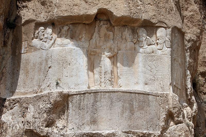 Иран. Персеполис, Накше-Рустем и Накше-Раджаб / Иран