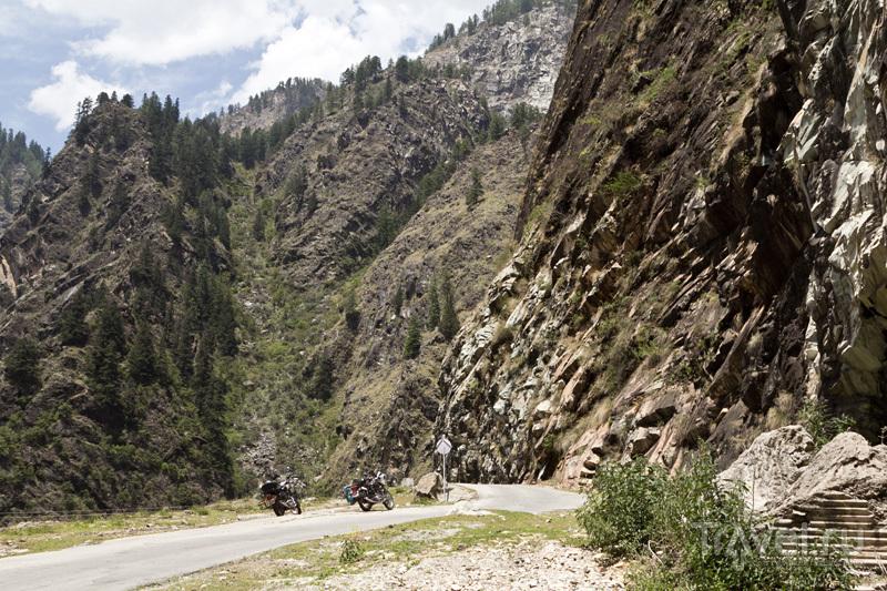 Дорога в Малану / Фото из Индии