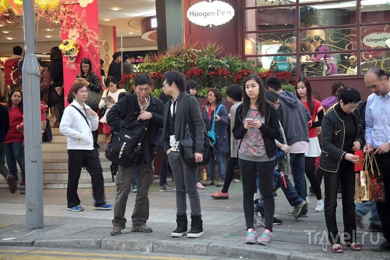 Гонконг. Лица вечернего Монгкока / Гонконг - Сянган (КНР)