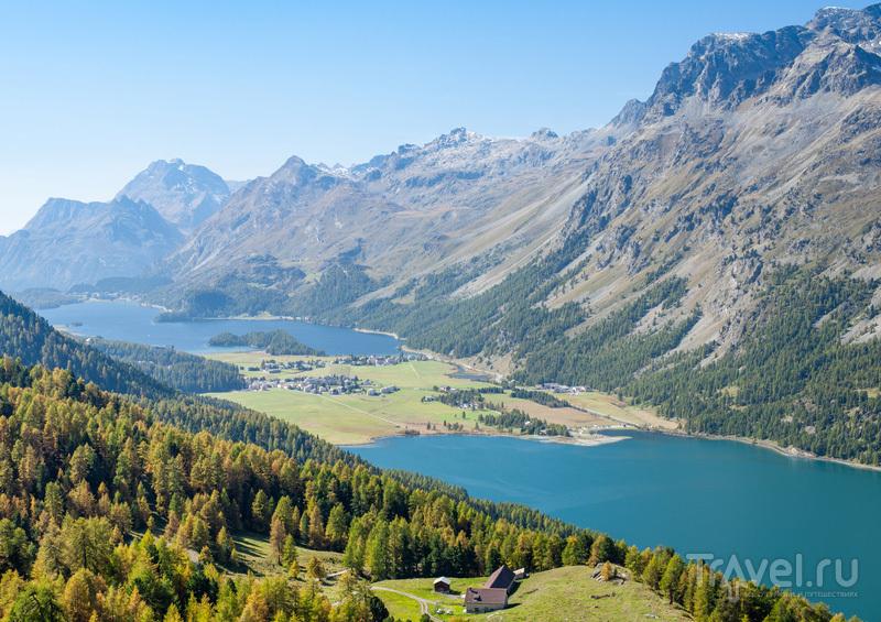 Озера Сильваплана и Сель / Швейцария