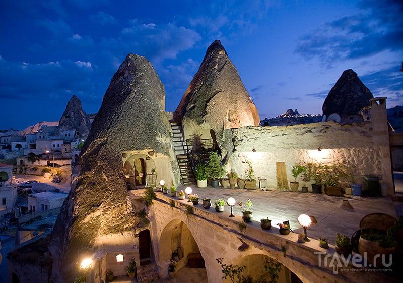 Башни отеля Kelebek в Гёреме / Турция