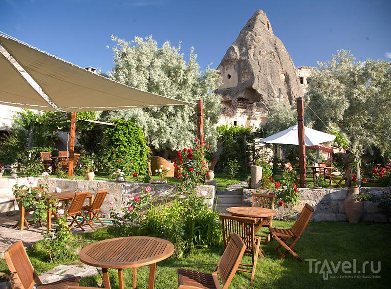 Сад в отеле Kelebek / Турция