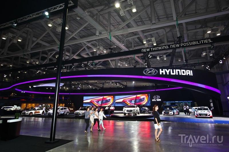 Международный автосалон в Пусане - BIMOS-2014 / Южная Корея