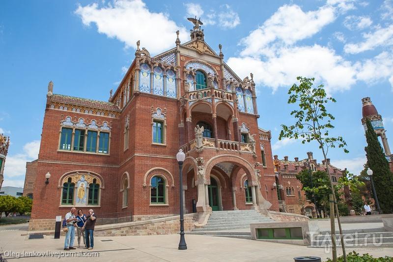 Госпиталь Сан Пау - новая достопримечательность Барселоны / Фото из Испании