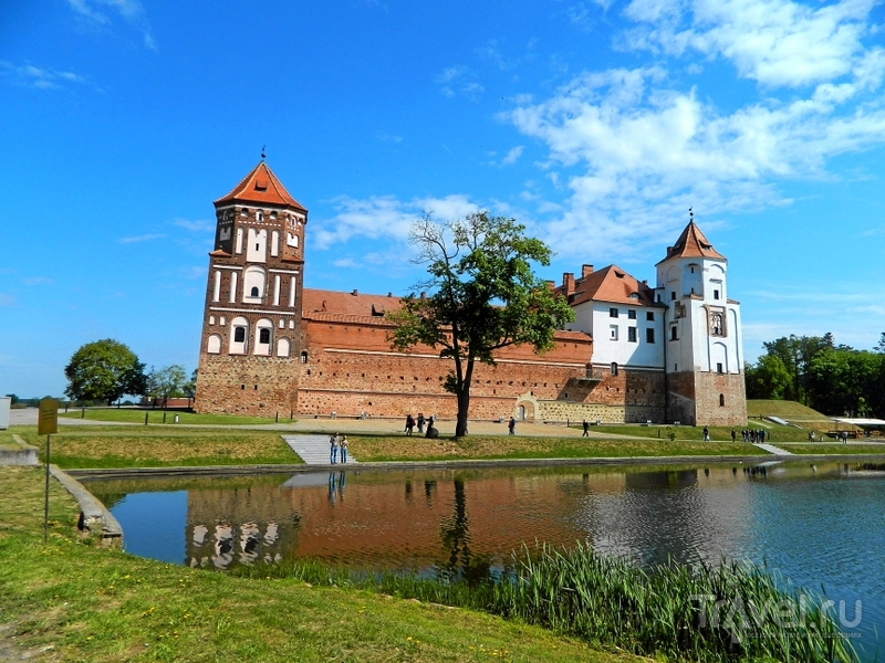 Мирский замок, Белоруссия / Фото из Белоруссии