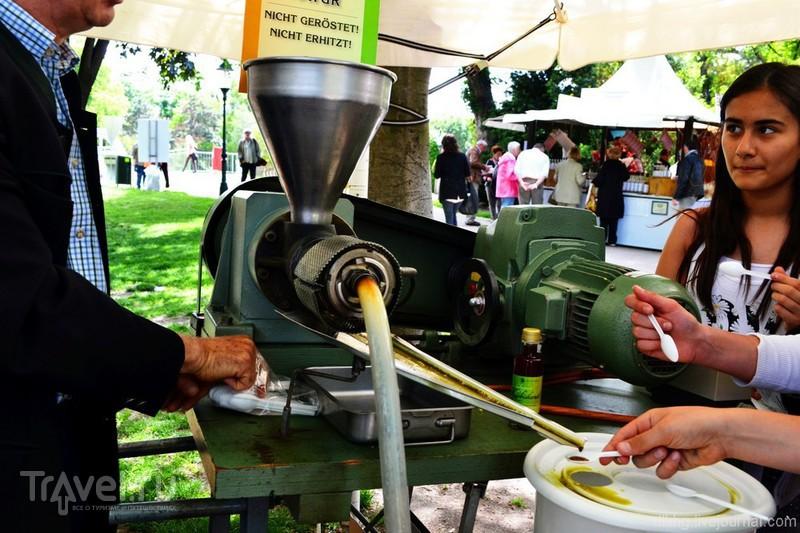 Фестиваль еды (Genussfestival). Вена / Австрия