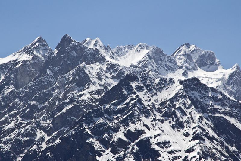 Гималайский перевал Ротанг на мотоцикле / Индия