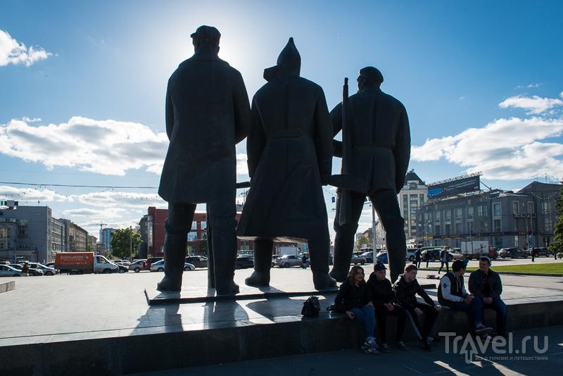 Новосибирск - город из прошлого / Россия